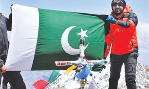 Pakistan's Asad Ali climbs highest mountain in South America