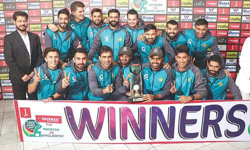 Pakistan retain top ranking after third Bangladesh T20 rained off