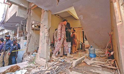 Man killed, couple, three others injured in gas cylinder blast