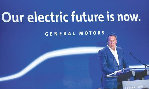 General Motors plant set to close will produce electric cars