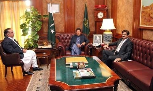 Row over Sindh police chief's appointment resolved after PM-Murad meeting