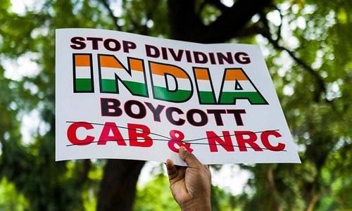 بھارت کے متنازع شہریت قانون کے خلاف امریکا کے 30 شہروں میں مظاہرے