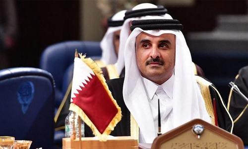 امیر قطر نے شیخ خالد کو نیا وزیر اعظم نامزد کردیا