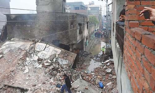 11 killed in Sheikhupura perfume factory fire