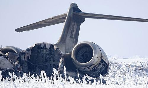 Taliban, Afghan forces clash near US jet crash site
