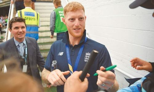 Rollercoaster ride for Stokes after father's illness