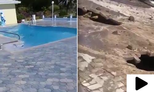 شمالی امریکی ملک کیوبا میں شدید زلزلہ