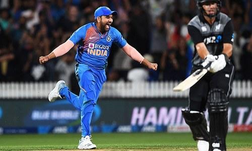 نیوزی لینڈ کو تیسرے میچ میں شکست، بھارت کو ٹی ٹوئنٹی سیریز میں فیصلہ کن برتری