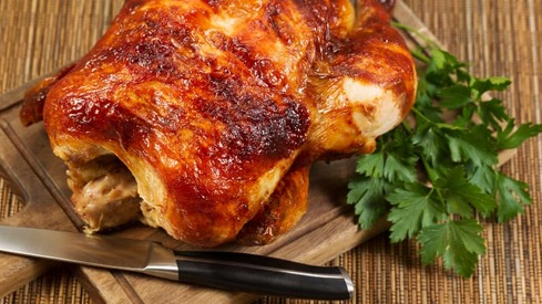 This glazed baked chicken will be the star of your dinner party