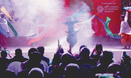 Comedy and dance pull a big crowd to Adab Festival's final day