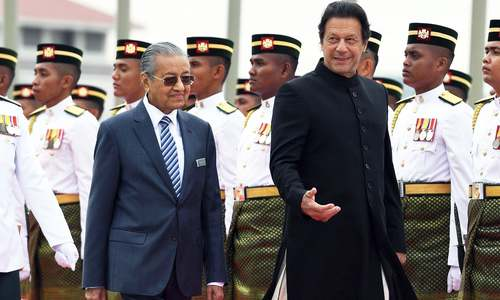 PM Imran arrives in Malaysia on two-day official visit