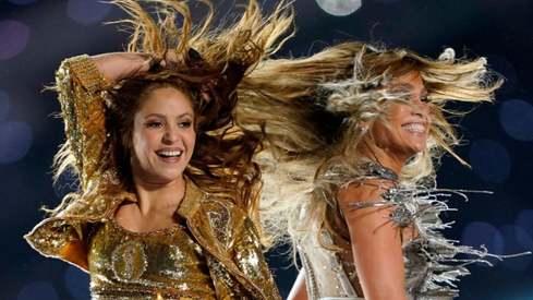 Jennifer Lopez and Shakira bring Latina star power to Super Bowl stage