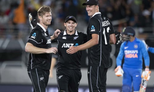 Taylor, Jamieson lead New Zealand to ODI series win over India