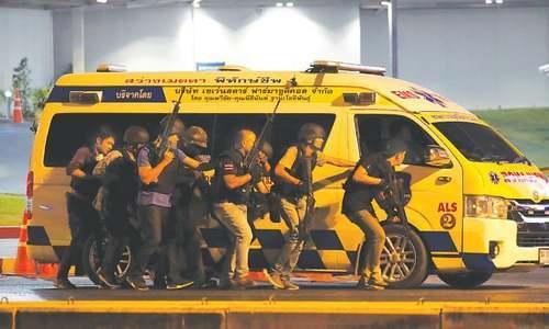 Thai gunman among 27 dead in 'unprecedented' mass shooting