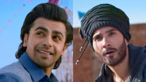 Farhan Saeed and Feroze Khan are on the run in Tich Button's teaser