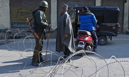 Occupied Kashmir observes strike to mark execution anniversary of Afzal Guru