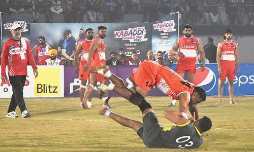 Pakistan, Iran grab big wins to open Kabaddi World Cup