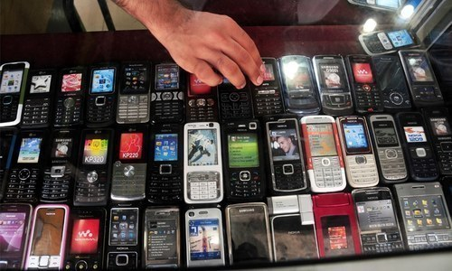 Import of mobile phones soars 79pc