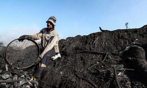 Smoke, soot and sweat: Egypt's charcoal workers toil to fuel love for shisha and BBQs