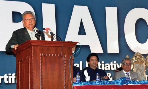 Local brands have great potential, says President Arif Alvi