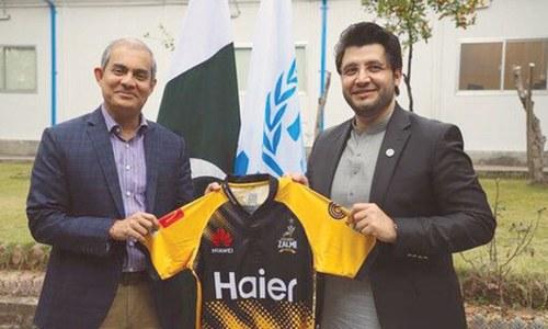 Peshawar Zalmi, UNHCR announce partnership