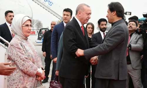 ترک صدر کا اپنے 'دوسرے گھر' کا دو روزہ دورہ مکمل