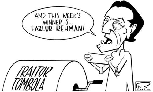 Cartoon: 16 February, 2020