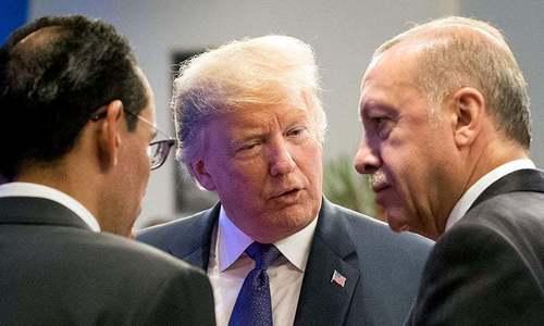 Erdogan, Trump discuss ways to end crisis in Idlib