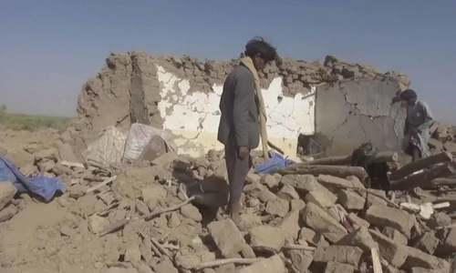 Air strikes on Yemen kill 31 civilians after Saudi jet crash