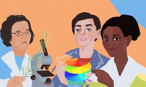 سائنس کے میدان میں نمایاں خدمات دینے والی 7 خواتین