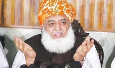 Fazl assails opposition parties for lukewarm support during march