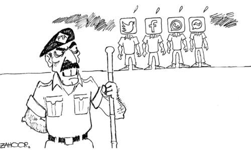 Cartoon: 17 February, 2020