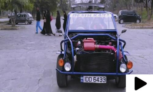 پاکستانی نوجوان نے جدید گاڑی بنا کر سب کو حیران کردیا