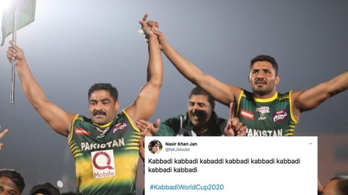 Twitter celebrates as Pakistan wins Kabaddi World Cup for the very first time