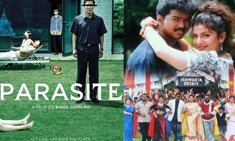 Is Oscar-winning film Parasite inspired from a Tamil film?