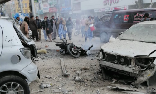 7 injured in blast near Quetta Press Club
