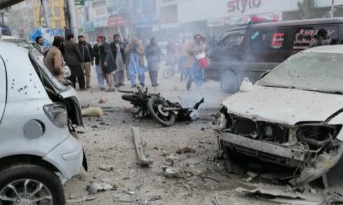کوئٹہ: احتجاج کے دوران دھماکے سے7 افراد جاں بحق