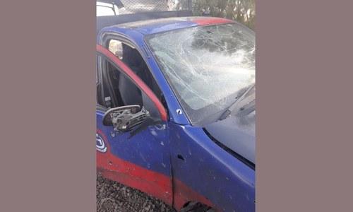 ڈیرہ اسمٰعیل خان: پولیس وین کے قریب دھماکا، ایک اہلکار شہید