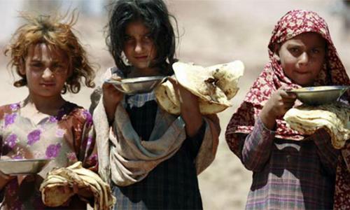 پاکستان میں 7 کروڑ 90 لاکھ افراد غذائی عدم تحفظ کا شکار ہیں