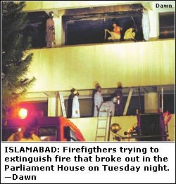 Fire erupts in NA building; sensitive records destroyed