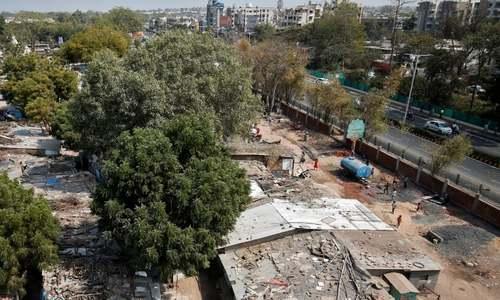 ٹرمپ کے بھارتی دورے پر کچی آبادی کے رہائشیوں کو بے دخلی کا نوٹس