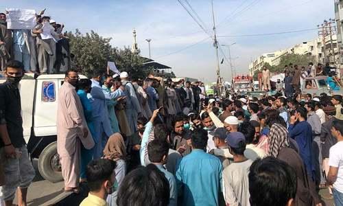 کراچی میں 'زہریلی' گیس کا مسئلہ، شہریوں کا احتجاج، حکومت سے جواب طلب