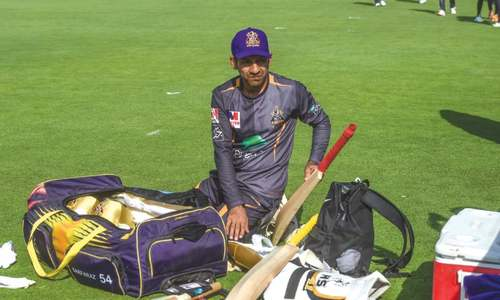 Time off from Pakistan team helped Sarfraz work on fitness