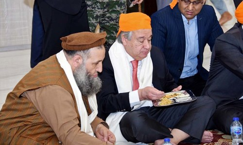 In pictures: Everything UN Secretary General Antonio Guterres did in Pakistan