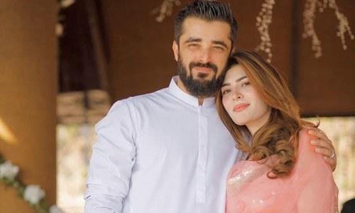 حمزہ اور نیمل کی رومانوی تصویر سوشل میڈیا پر وائرل