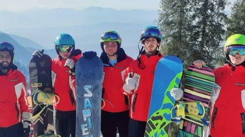 International snowboarding competition kicks off in Malam Jabba