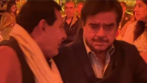 What is Shatrughan Sinha doing in Lahore?