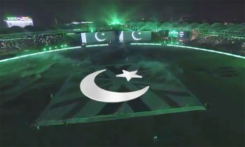 پاکستان سپر لیگ 2020 کی افتتاحی تقریب میں فنکاروں کی شاندار پرفارمنس