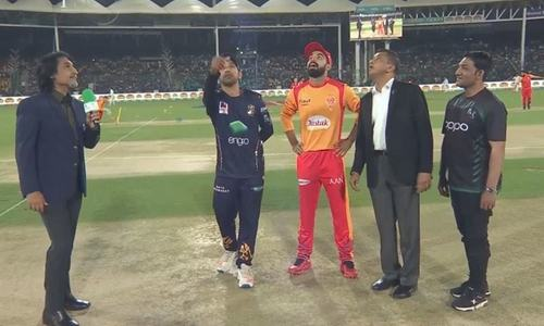 Quetta Gladiators win toss, opt to bowl in first match of PSL 5 against Islamabad United