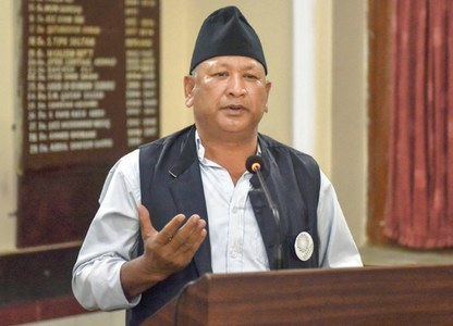 Nepalese peace marchers meet civil society members